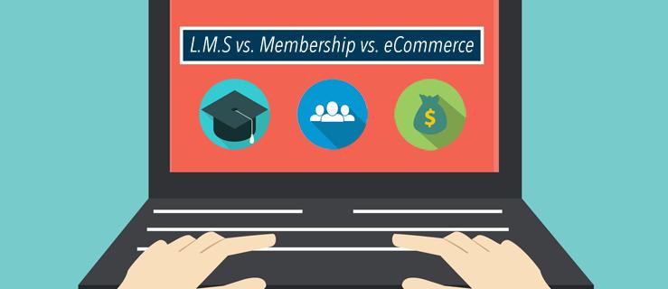 LMS vs Membership vs eCommerce