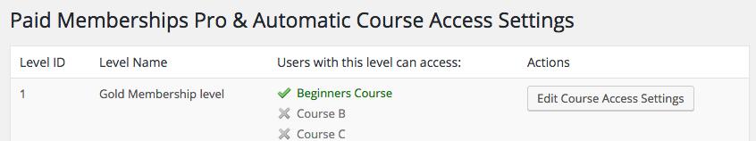 course-integration
