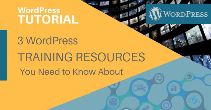 WordPress Training Resources