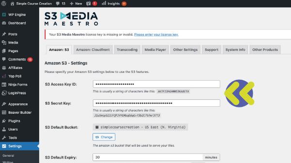 Amazon S3 WordPress Plugin Offload Media 4